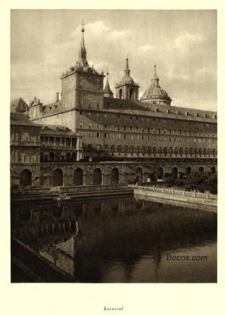 fachada del Escorial