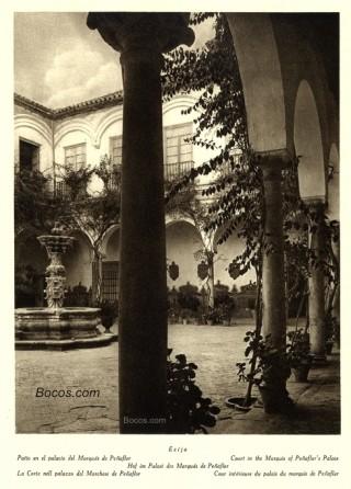 patio del palacio del marqués de Peñaflor de Écija