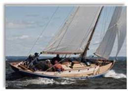 Baggy Wrinkle's beautiful yacht