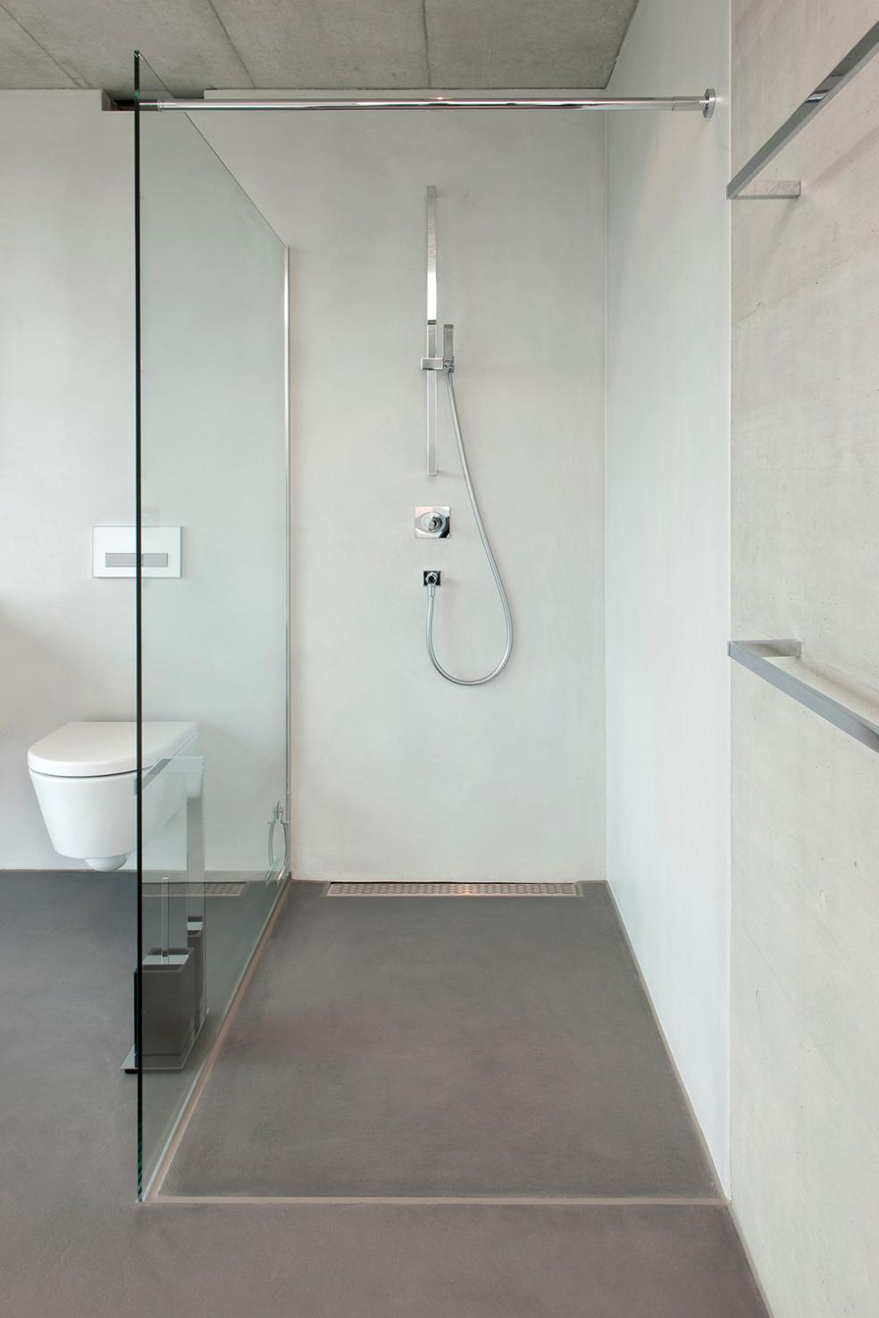 Bodarto Badezimmergestaltung Boden und Wandbelag fr Badezimmer