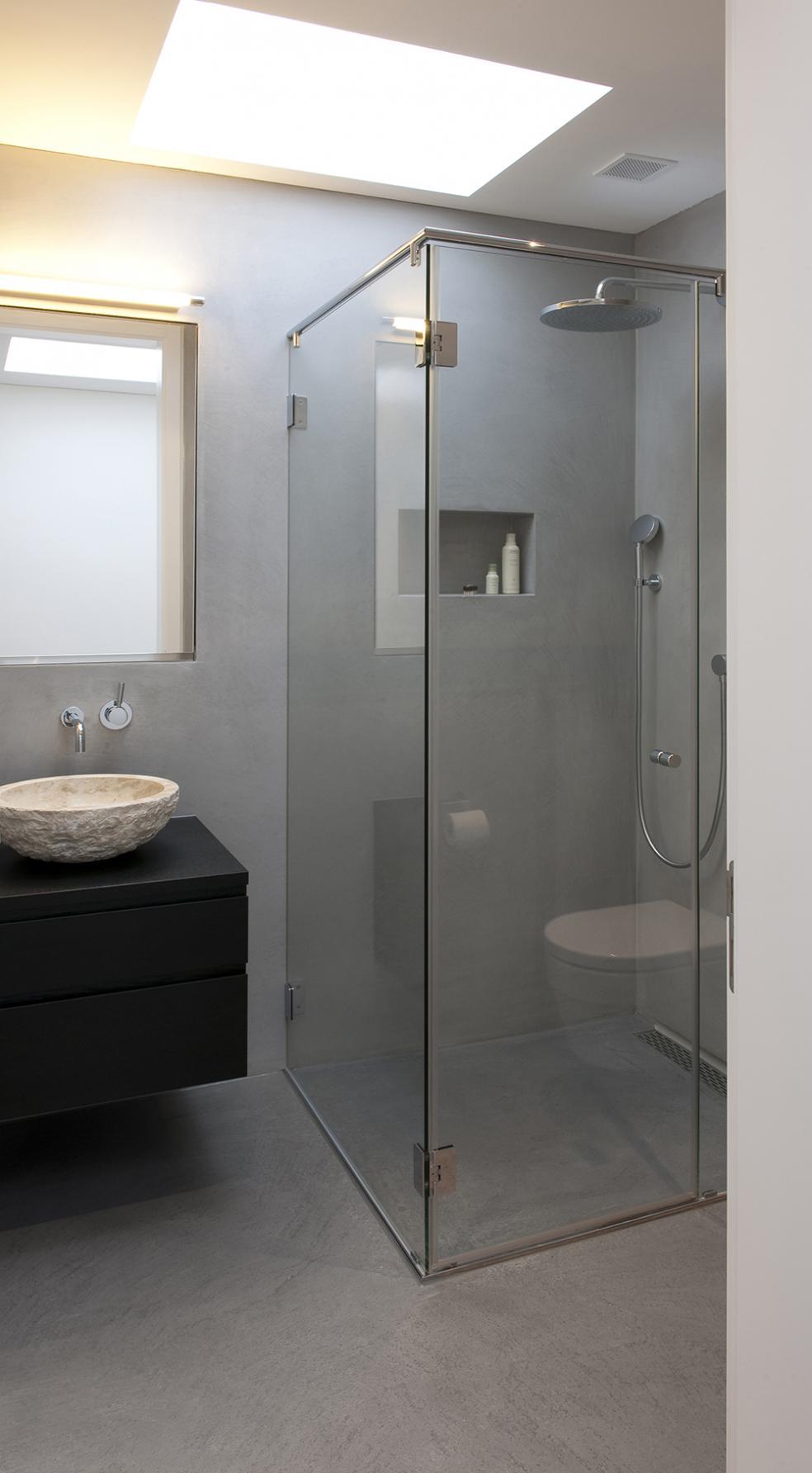 Bodarto Badezimmergestaltung Boden und Wandbelag fr