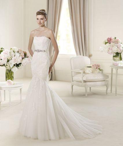 trajes de novia con estilo sirena