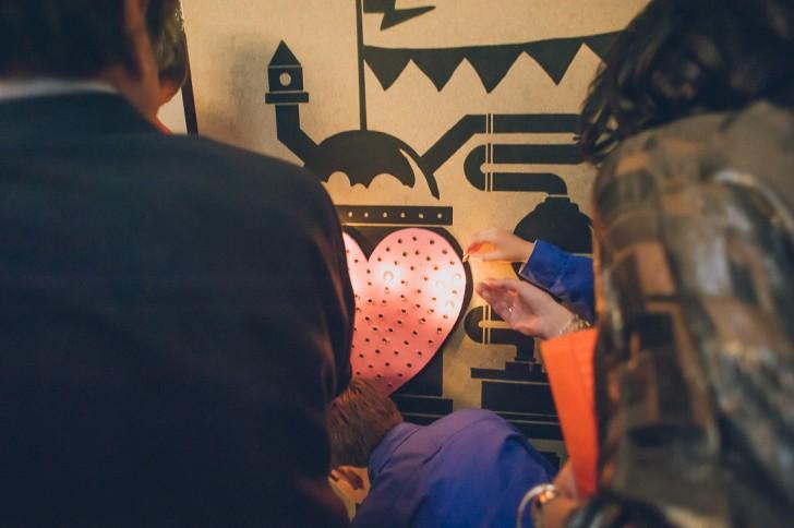 máquina boda industrial www.bodasdecuento.com