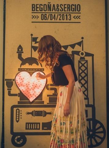 máquina bombillitas boda www.bodasdecuento.com