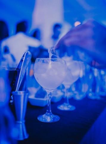 barra de gin tonics boda www.bodasdecuento.com