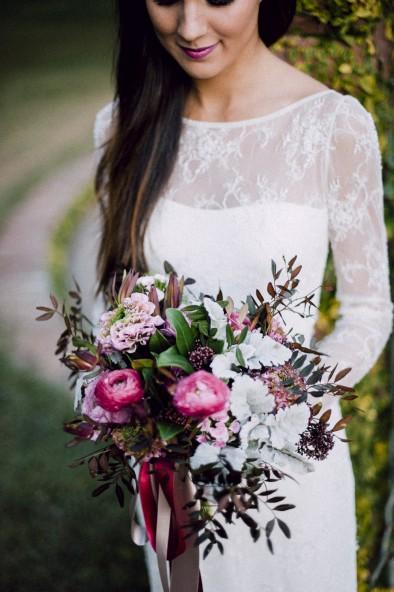ramo de novia singular envit www.bodasdecuento.com