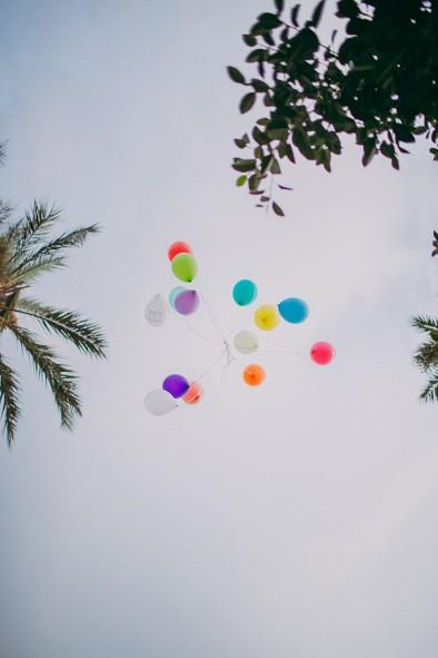 globos ceremonia recepción invitados www.bodasdecuento.com
