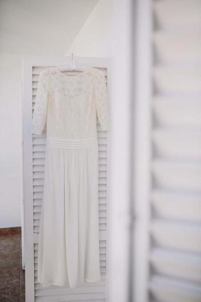 vestido novia laure de sagazan www.bodasdecuento.com