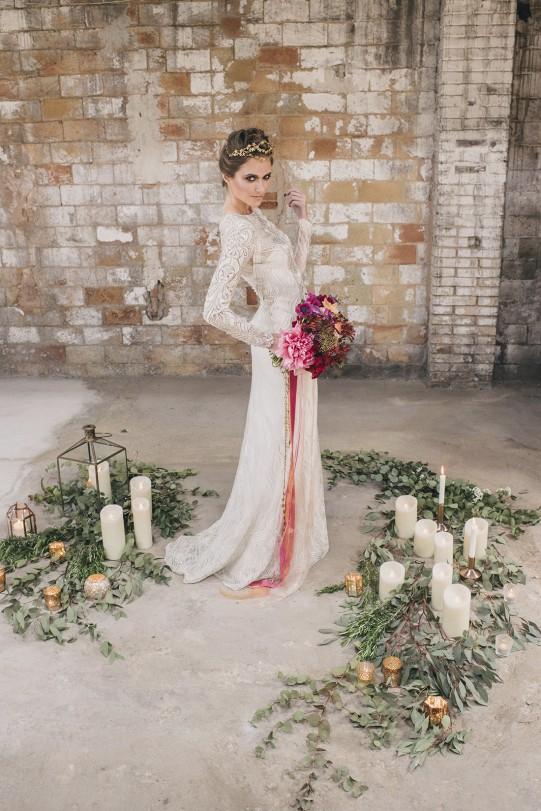 boda inspiración industrial www.bodasdecuento.com
