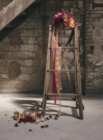 decoración boda estilo industrial www.bodasdecuento.com