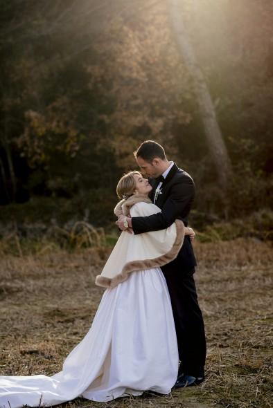 sesión fotos novios boda de invierno www.bodasdecuento.com