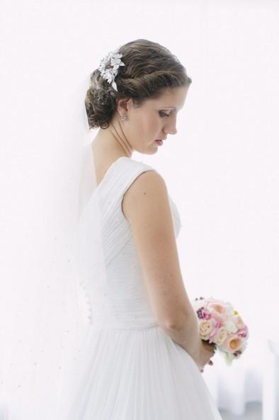 look novia romántico www.bodasdecuento.com