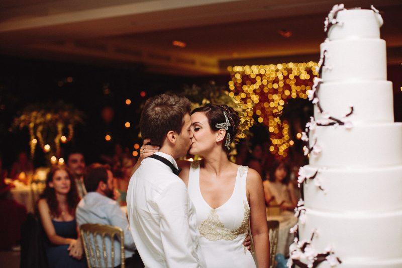 pastel de boda grande www.bodasdecuento.com