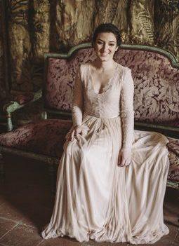 vestizo novia emily riggs www.bodasdecuento.com