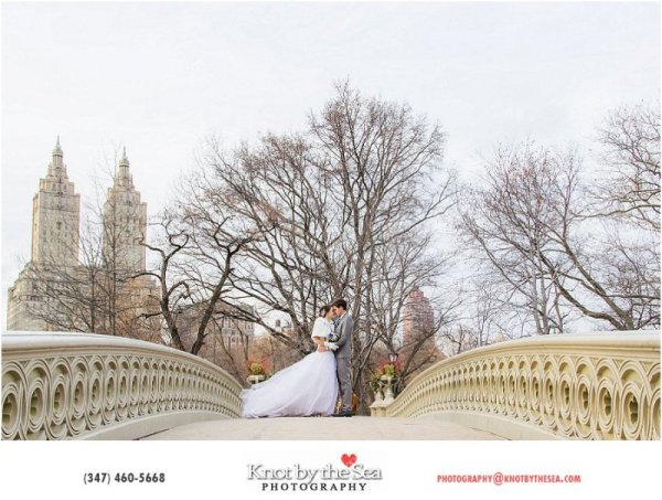 Fotografo de Bodas New York Parque Central