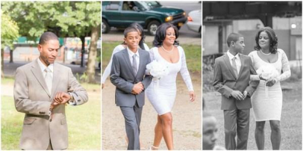 Outdoor Wedding Ceremony Bronx New York