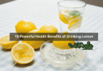 health benefits of drinking lemon