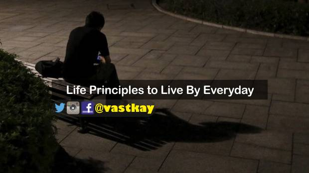 life principles to live by