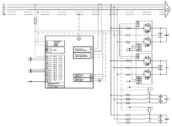 Power Factor Control Relay BLR-CM