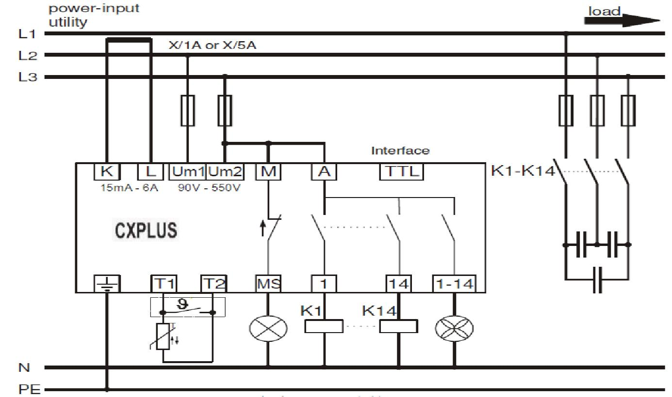 hight resolution of power factor control relay cxplus wiring diagram