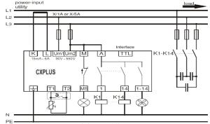 POWER FACTOR CONTROL RELAY CXPLUS