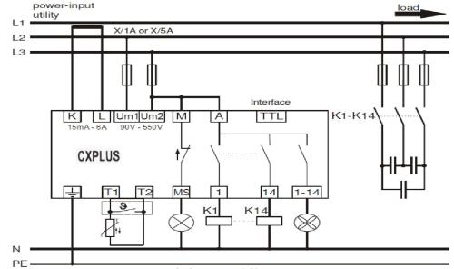 small resolution of power factor control relay cxplus wiring diagram