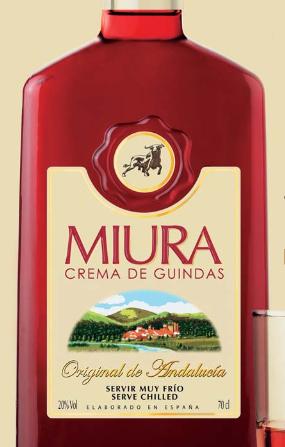 Miura, Licor de Guindas de Sierra de Cazalla