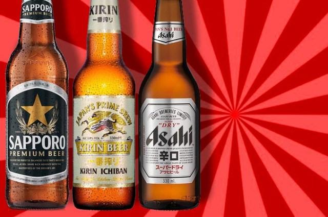 Cervezas del Japón