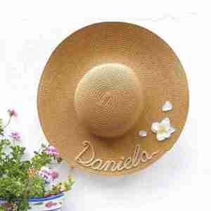 Pamela personalizada con flores