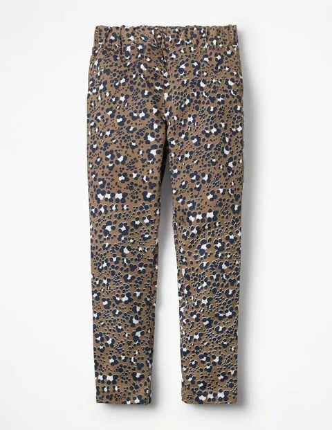 Animal Print Cord Leggings
