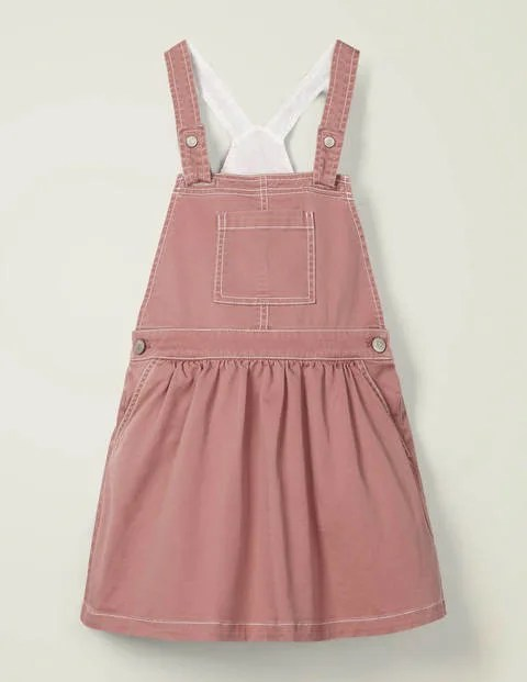 Pink utility dress