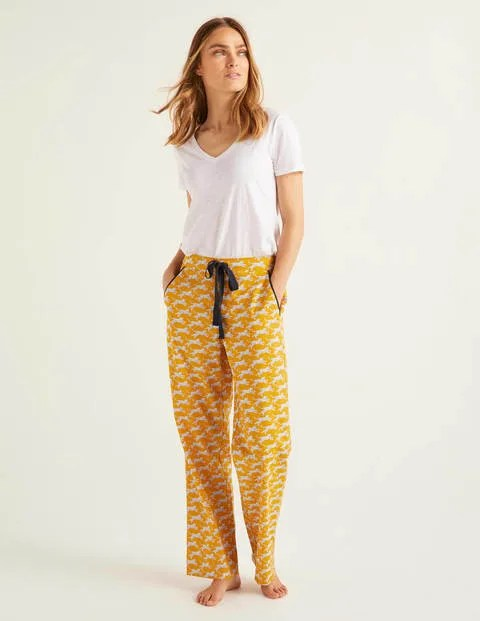 Yellow Pyjama Bottoms