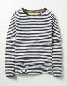 Mini navy sparkly pointelle  shirt also johnnie  at boden rh clothingdenusa
