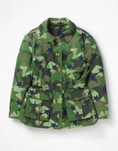 Khaki stars utility jacket boden also johnnie  girls kids rh bodenusa