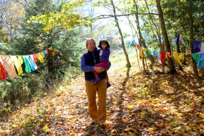 Father and daughter on the Dharma path