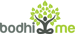 bodhi me logo with tagline