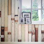 Scrapwood wallpaper collection by Piet Hein Eek
