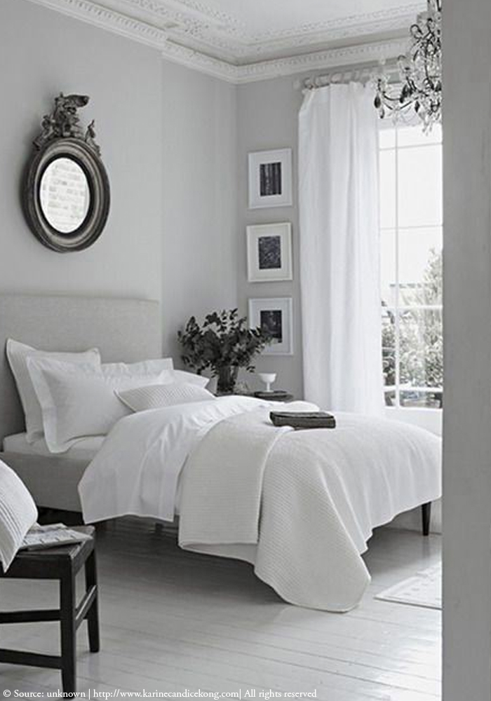 5 stylish, French style bedrooms with headboards. For more inspiration, go to www.karinecandicekong.com