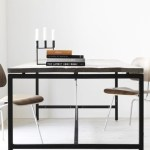 5 tables minimalistes et chics