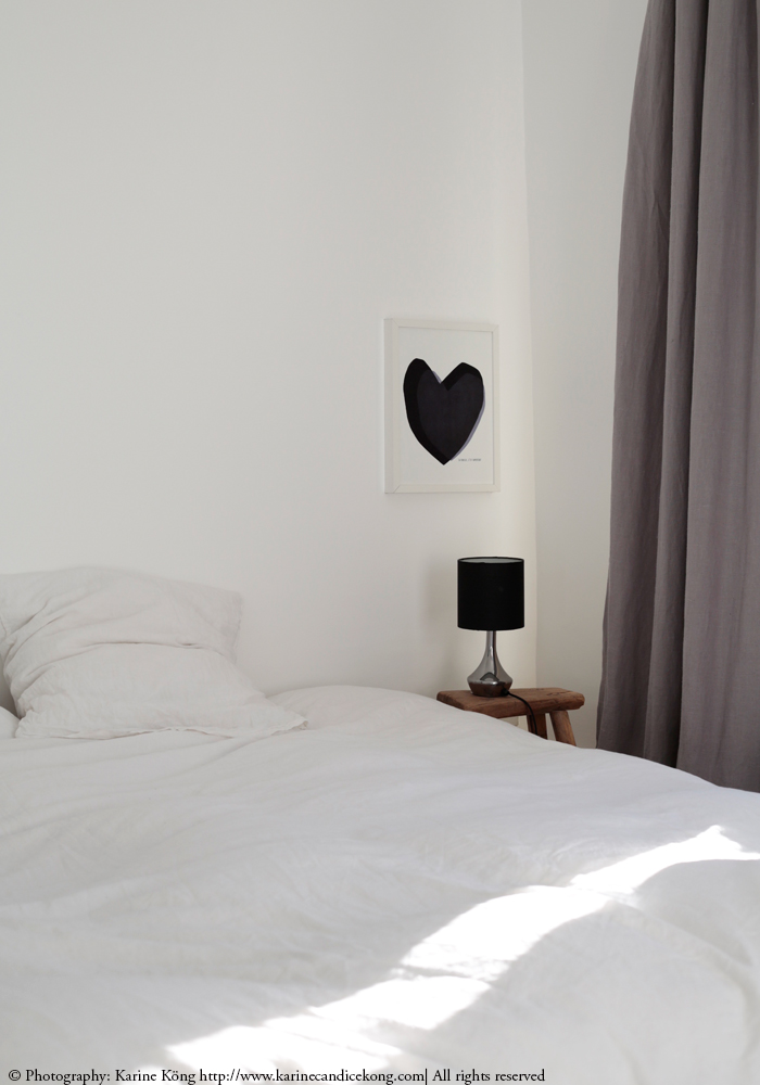Quick, easy tips to achieve the look of this gorgeous French white bedroom
