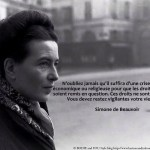 10 inspiring quotes by Simone de Beauvoir