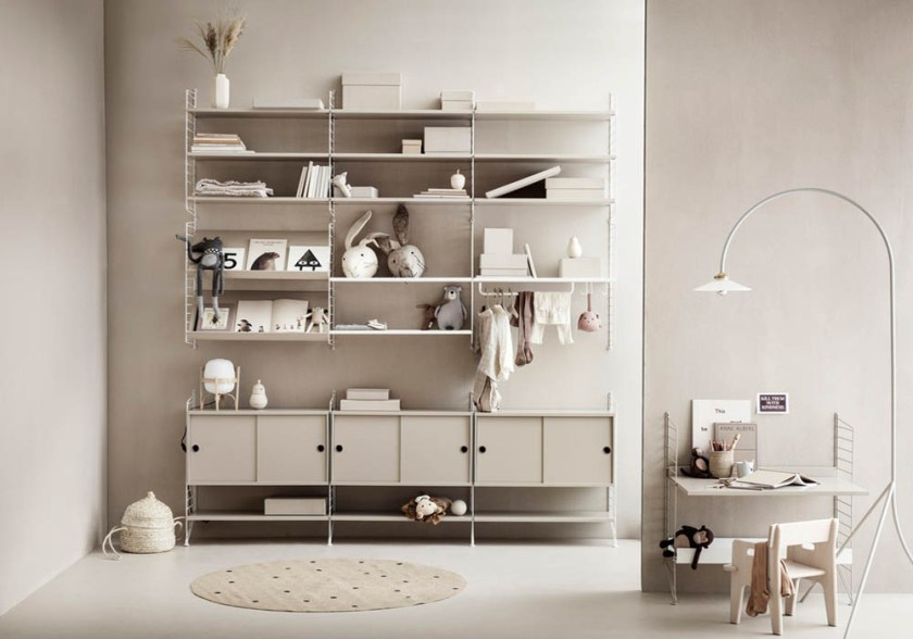 How to choose the best String® shelving for your family