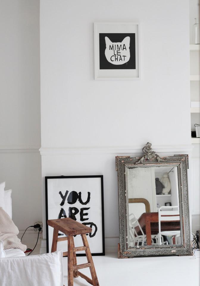 A gorgeous & cosy Parisian flat