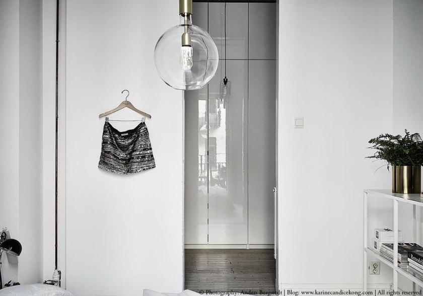 Un bel appartement blanc aux touches naturelles