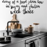 Food plan diary low in sugar* & gluten | week 3