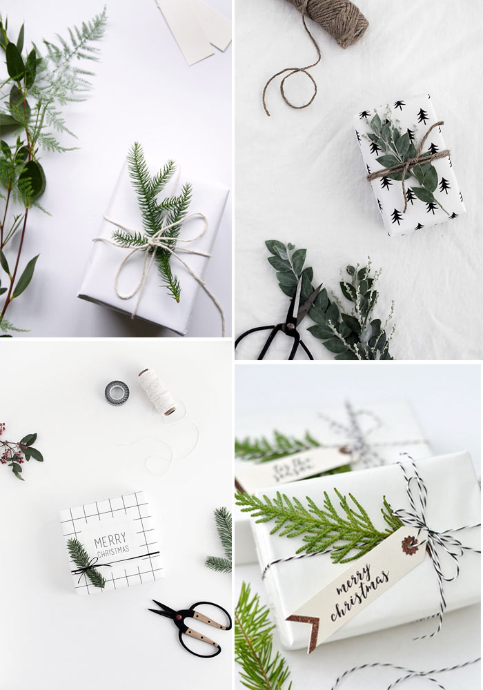 10 modern, minimalist Xmas gift wrapping to inspire you
