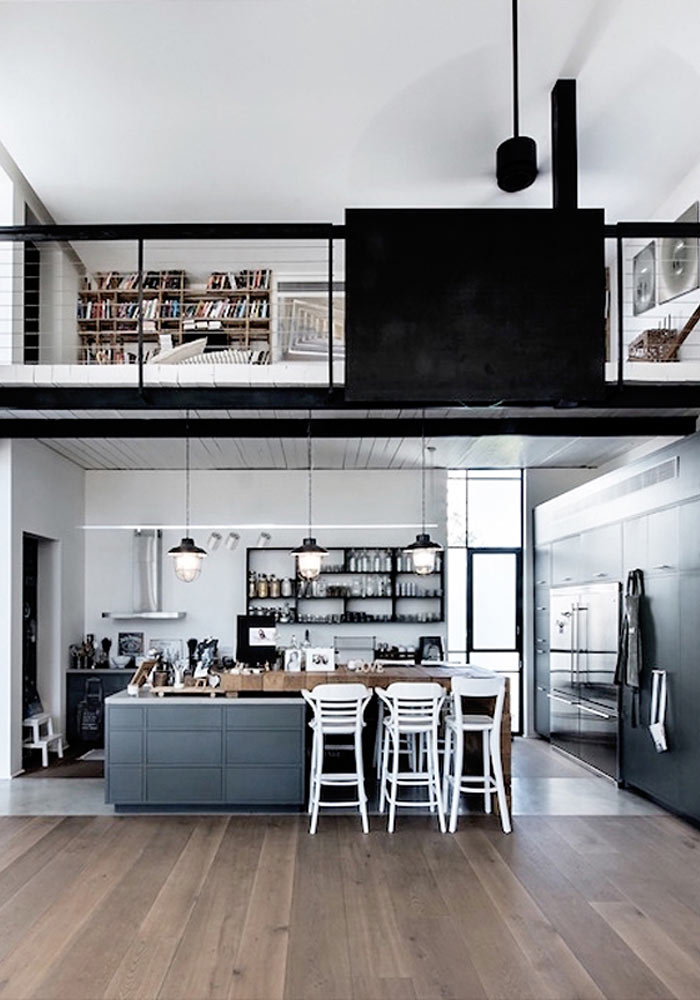 50 Shades Of Grey In The Kitchen