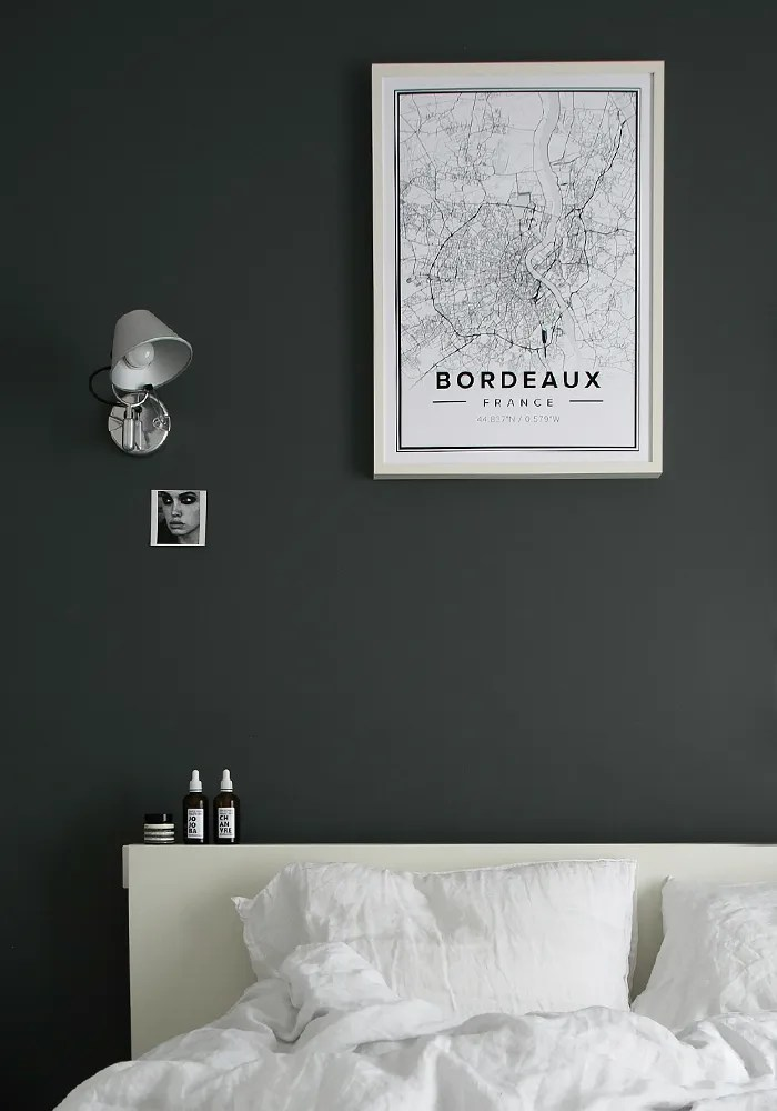 Stylish bedroom update with a new print