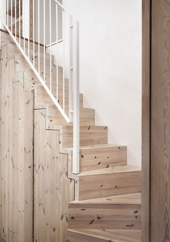 Natural Wood U0026 White Interior: A Scandinavian Home In The Countryside |  BODIE And FOU