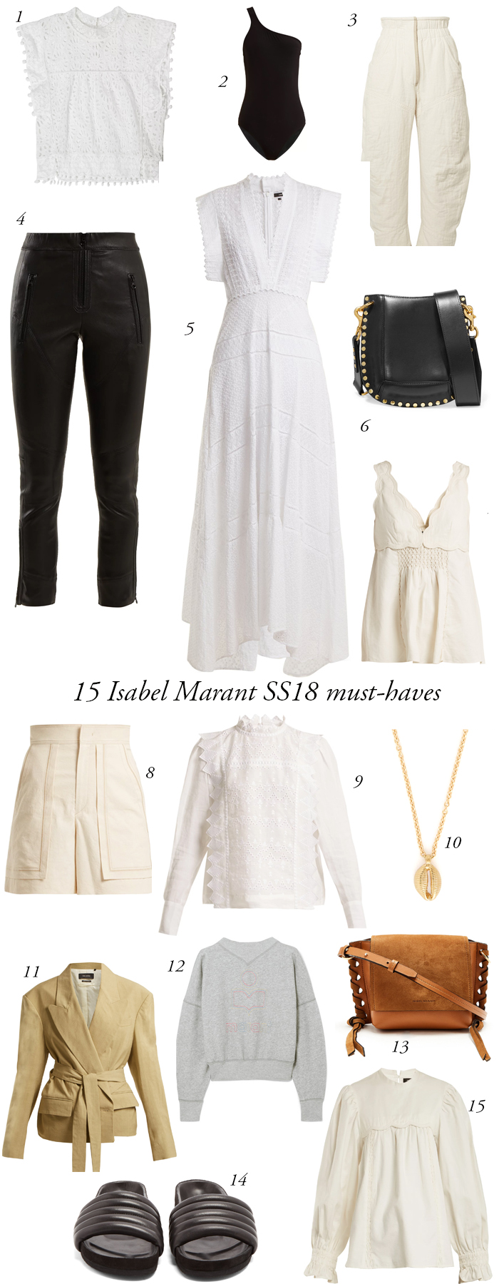 15 Isabel Marant must-haves